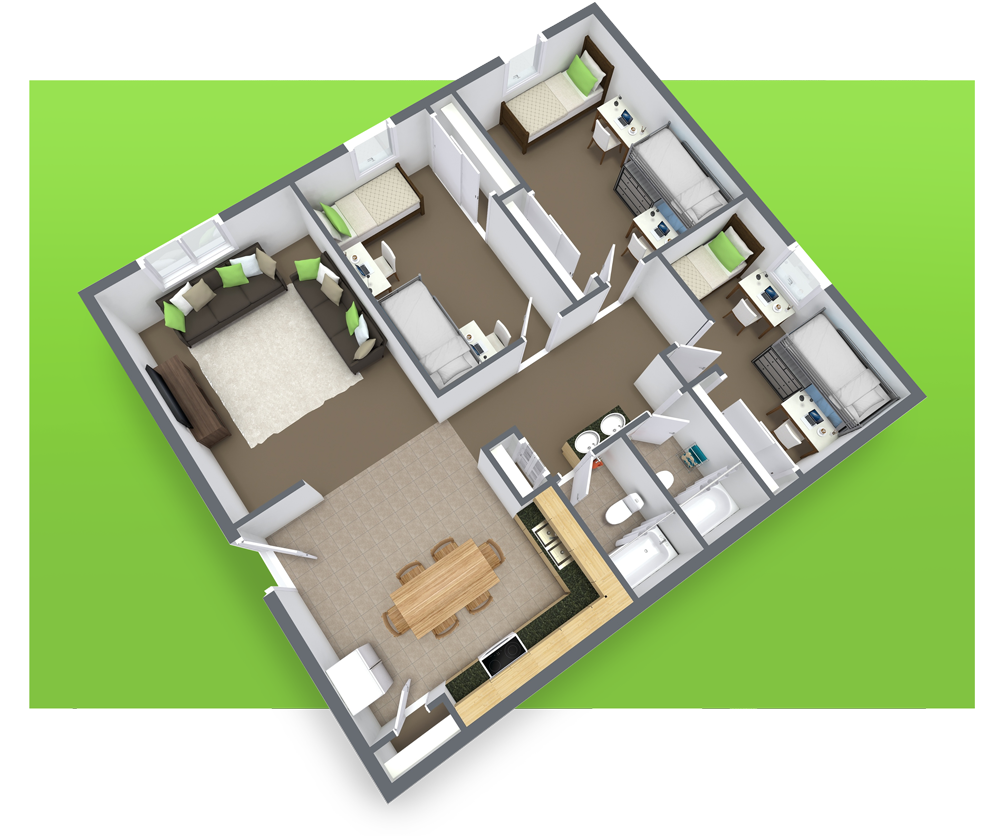 The Pines Rexburg Student Housing Floor Plans